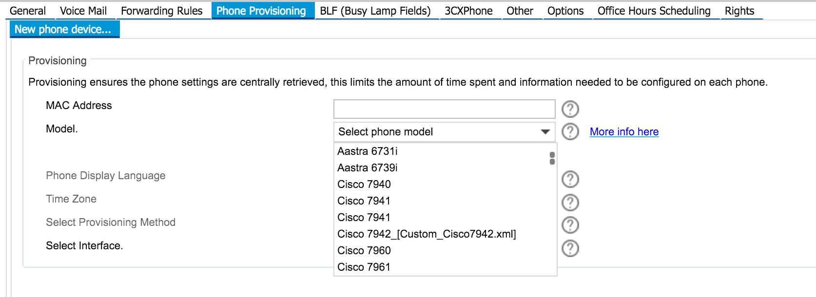 Configuring 3CX for Cisco 7942 - Austen Consultants IT
